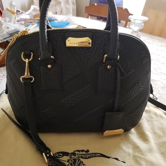 Burberry Handbags - Burberry Orchard Embossed Handbag AUTHENTIC! 886d888952